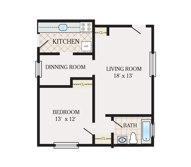Floor Plans Woodbridge Apartments For Rent In Edison Nj