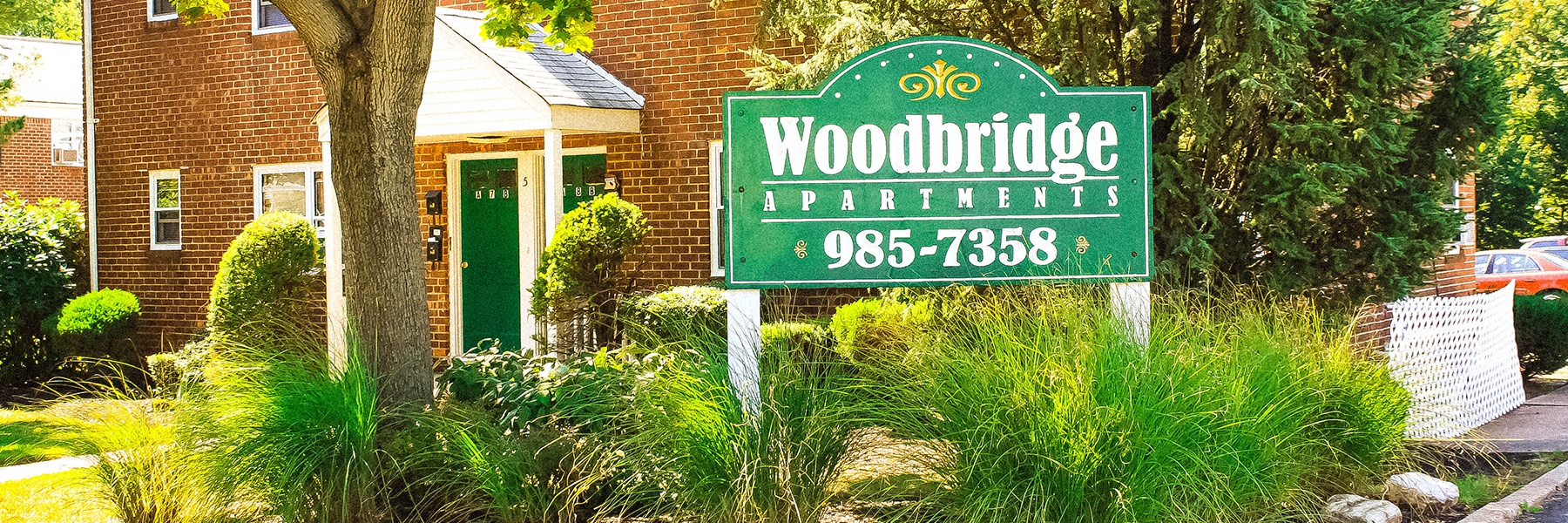Woodbridge Apartments Entrance