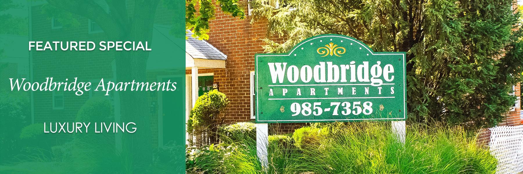 Woodbridge Apartments Specials